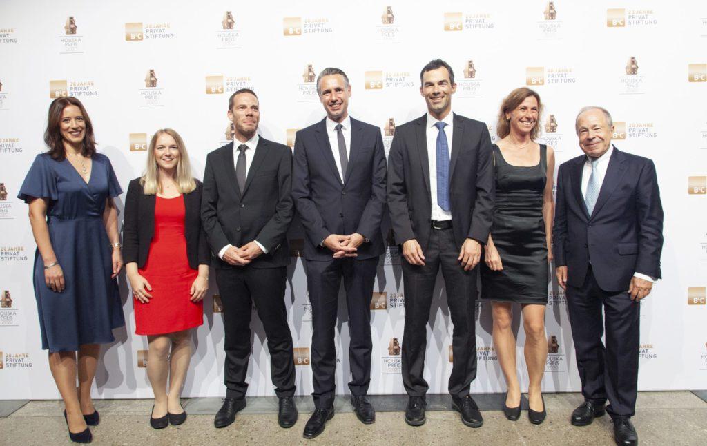 Houska Preisverliehung Team CSE