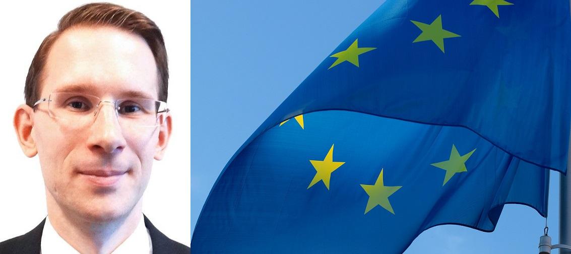 Andreas Unterweger EU Flag